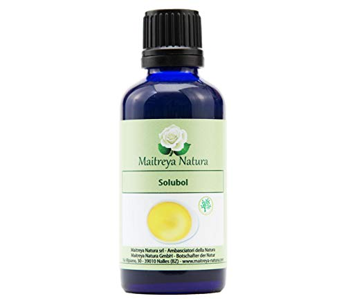 Maitreya Natura SOLUBOL, 100% naturrein, 50ml - Aromatherapie, Kosmetik - kontrollierte und zertifizierte Qualität, cruelty free, vegan