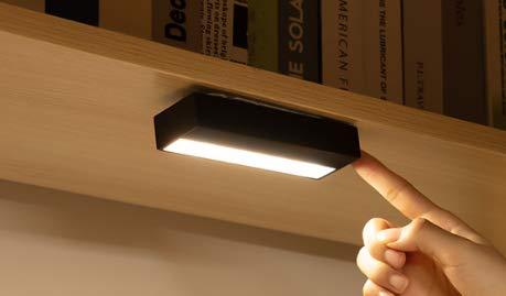 Led-tafellamp, USB-oplader, student, slaapzaal, bed, lezen, mini-magneet, adsorptie, plug-in dual gebruik