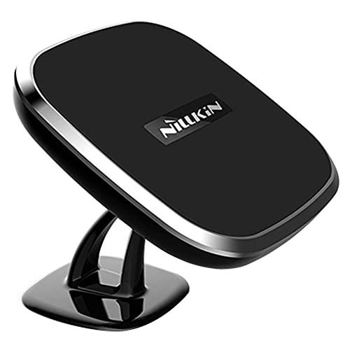 Wireless Charger, Nillkin 2-in-1 Qi Wireless Charging Pad & Magnetic Car Mount Holder for iPhone Xs Max/XR/X, iPhone 8/8 Plus, Samsung Note 8/S8/S8 Plus and More - Model C
