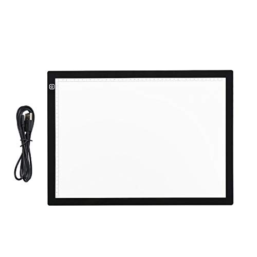 Youyijia A3 Light Box Drawing Pad 470 * 345 * 5mm Ultra Thin Portable LED Light Box Tracing Drawing...