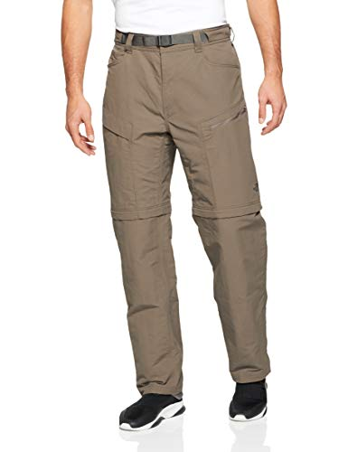The North Face Men's Paramount Trail Convertible Pants - Weimaraner Brown - Medium-Regular