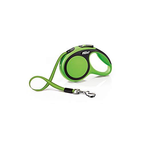 flexi New Comfort S Gurt 5 m grün für Hunde bis 15 kg