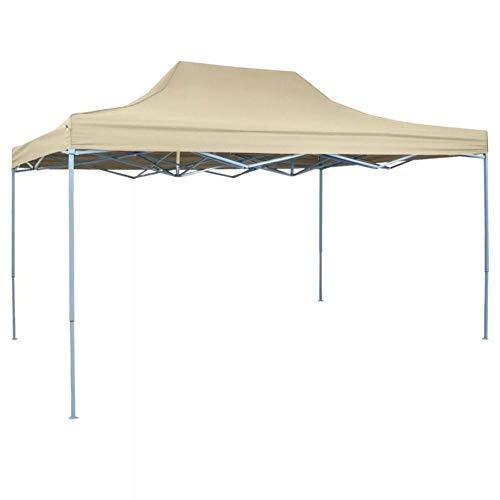 Ausla - Carpa plegable de 3 x 4,5 m, plegable, de acordeón, cenador plegable, impermeable, para exterior, tienda de campaña, para camping, barbacoa, fiestas