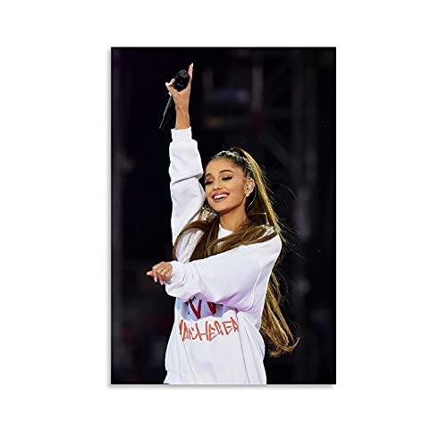 Ariana Grande Dangerous Woman Tour Art 4k Hd Poster Poster Pittura Decorativa Tela Arte Della Parete Soggiorno Camera Da Letto Pittura 20x30 cm