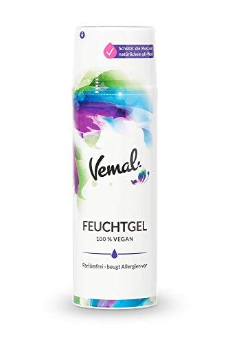 Vemal Gleitgel auf Wasserbasis - hoch gleitfähig, pflegend mit Provitamin B5, vegan, parfümfrei, glycerinfrei (100 ml)