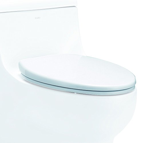 EAGO R-358SEAT Replacement Soft Closing Toilet Seat for TB358, White