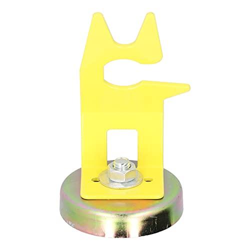 Soporte de soldadura, duradero soporte de antorcha de soldadura MIG Diseño en forma de tarjeta con fuerte base magnética para reposicionar la antorcha de soldadura para colocar la antorcha