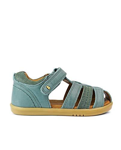 Bobux I-Walk Roam Closed Sandal - Caminantes - Sandalias de Playa de bebé Bobux de Piel (Slate, 24)