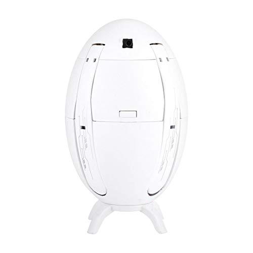 Pwshymi Cámara de Alta definición Drone Cuadricóptero Ajustable Fiesta Familiar Vacaciones Cultivar interés(White, Full Machine Version)