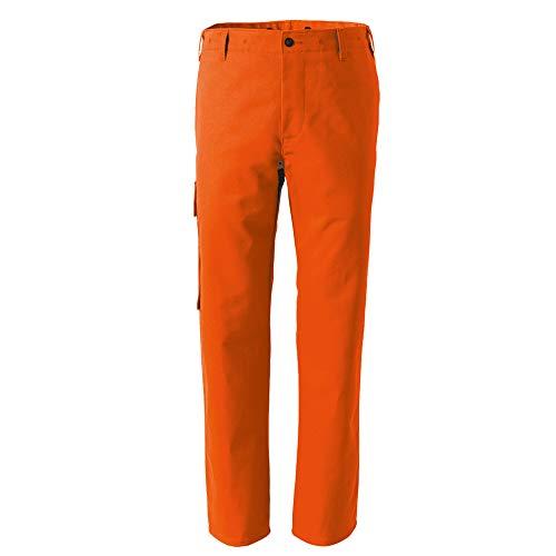 Rofa Bundhose 225 Orange Arbeitshose Arbeitskleidung, Größe:42