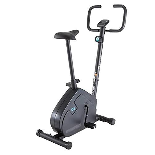 Bicicleta De Ejercicios Aeróbica con Pantalla De Entrenamiento Entrenador En Casa Bicicleta De Ejercicios De Interior Carga De 110 Kg (Color : Black, Size : 87 * 48 * 121cm)