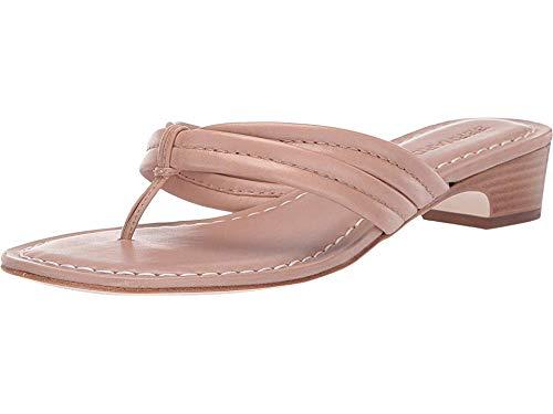 Bernardo Miami Demi Heel Sandals Blush Antique Calf 10 M