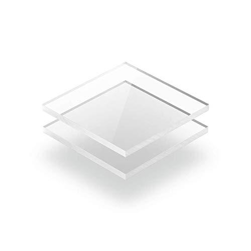 Kunststoffplattenonline.de - Acrylgas XT Platten/Acrylglasplatten XT - Transparent - 2mm im Zuschnitt (50 x 50 cm (500 x 500 mm))