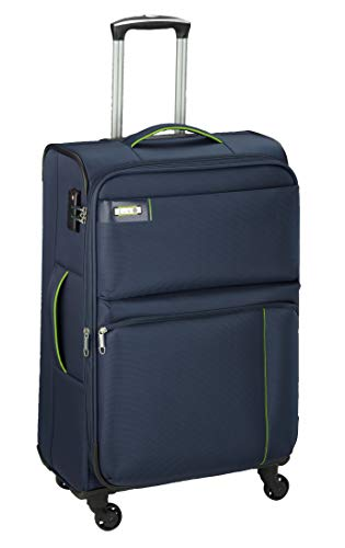 D&N Travel Line 6704 Koffer, 65 cm, 61L, Blau