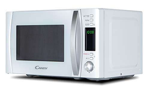 Candy CMXG20DW Microonde con Grill e App Cook-in, 20 Litri, 1.000 watt, Bianco