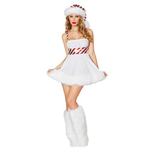 Katurn Disfraces Exticos para Mujer Disfraz De Sra. Claus, Sombreros De Pap Noel para Adultos, Traje De Disfraces Navideos