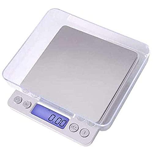 YuKeShop Balance de cuisine numérique 3000 g/0,01 g pour petits bijoux, nourriture, poids et onces, balance numérique de cuisine