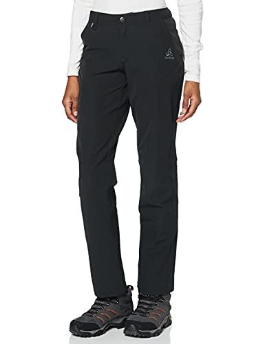 Odlo Pants Alta Badia Pantalon, Mujer, Black, 36