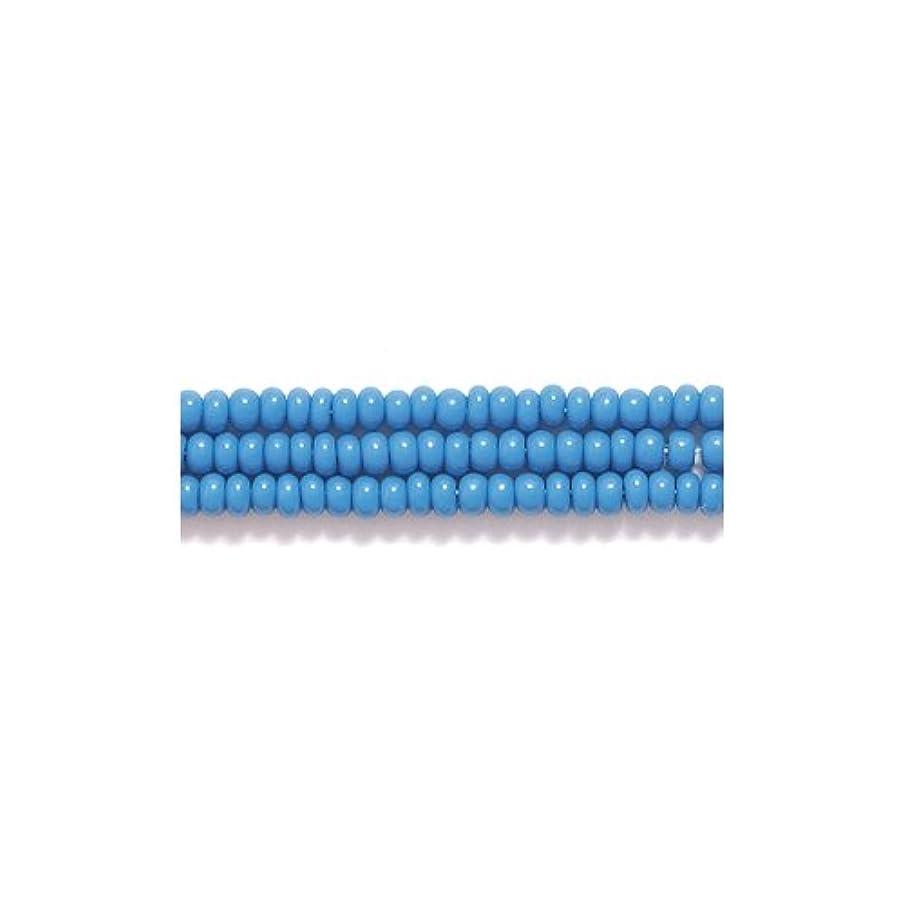 Preciosa Ornela Czech Seed Bead, Opaque Slate Blue, Size 11/0