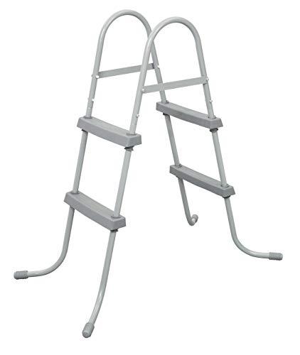 Bestway 58430 - Escalera Para Picinas Altura Máxima 84 cm