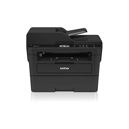 Brother mfc-l2730dw Laser 4-in-1 multifunctionele printer (A 34 ppm met bedraad netwerk, WLAN, duplex in druk, Spaanse versie, Italiaanse versie) zwart/wit