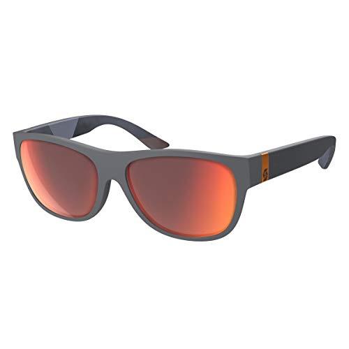 Scott Lyric Sonnenbrille grau/rot Chrom