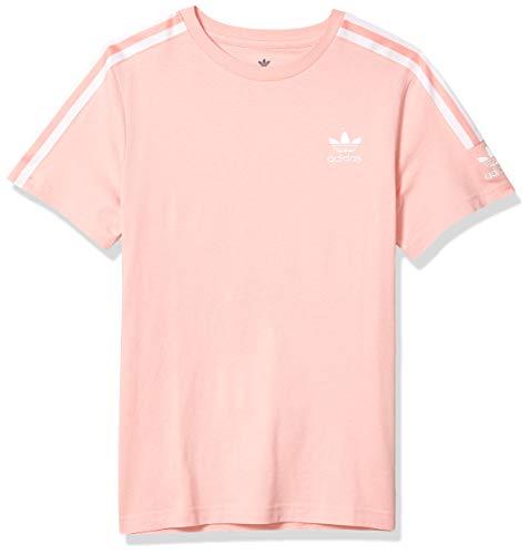 adidas Originals Toddler New Icon T-Shirt, Glory Pink/White, 3T