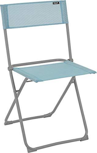 Lafuma Silla plegable compacta, Utilizable en la terraza, jardín y balcón, Balcony, Batyline, Azul claro, LFM2600-8553