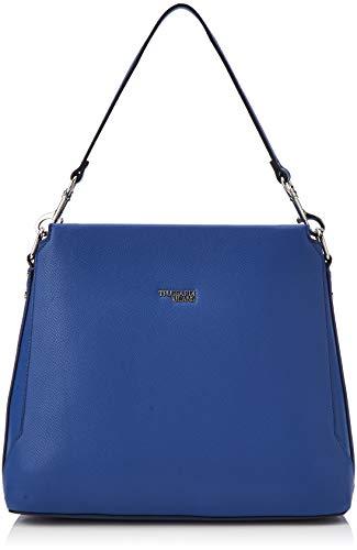 Trussardi Jeans Berry Hobo, Borsa a spalla Donna, Blu (Bluette),...