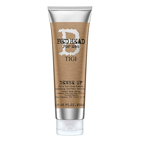 TIGI Bed Head For Men Dense Up - Champú Voluminizador para Hombre 250 ml