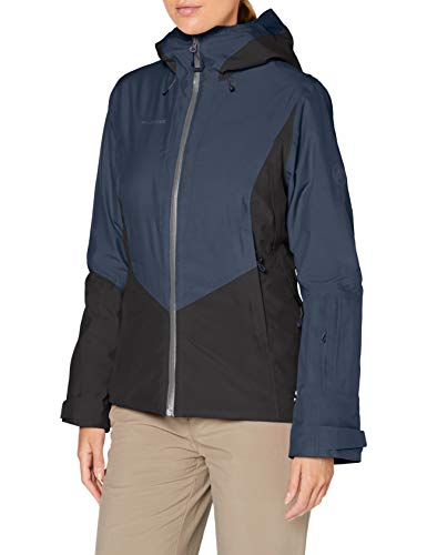 Mammut Casanna Vestes Hard Shell isolantes Femme peacoat-black FR : L (Taille Fabricant : L)