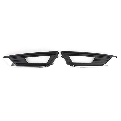 Areyourshop 1 Paar Nebelscheinwerfer Kühlergrill Abdeckung links & rechts für F-O-R-D Focus 2015 2016 2017