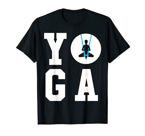 Anti Gravity Yoga Pose First Posture - Aerial Yoga T-Shirt