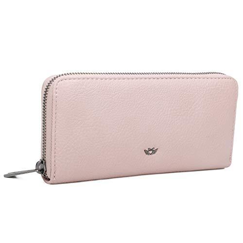 Fritzi aus Preussen Damen Nicole Geldbörse, Pink (Light Rose), 2.5x19.5x9.5 cm