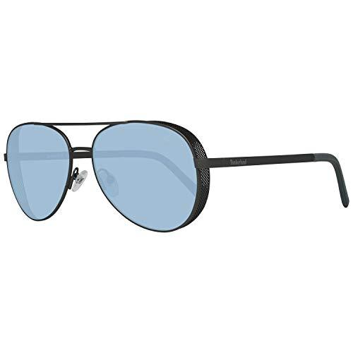 Timberland TB9183-6109D Gafas, MATTE GUNMETAL/SMOKE, 61/16/150 para Hombre