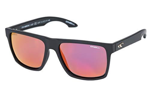 O'Neill Harlyn Polarized Square Sunglasses, Matte Black, 56 mm