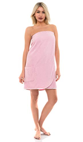 TowelSelections Women's Wrap, Shower & Bath, Terry Spa Towel Large Fairy Tale