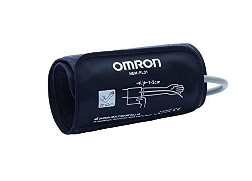 OMRON Intelli Wrap HEM-FL31-E Manguito para monitores de presión arterial de brazo OMRON, 22-42cm