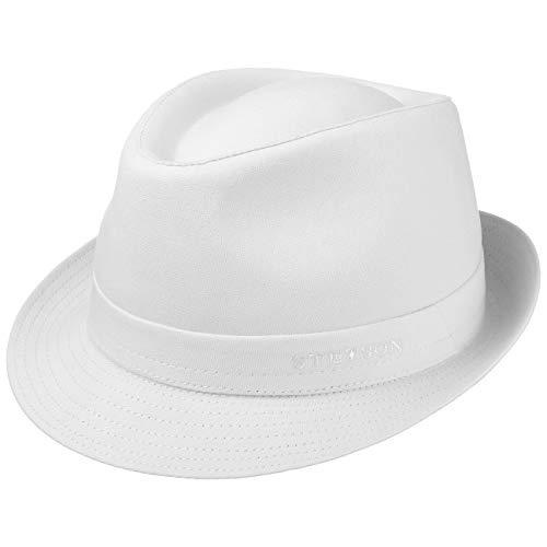 Stetson Sombrero de Tela Teton Trilby Mujer/Hombre - Made in Italy Verano...