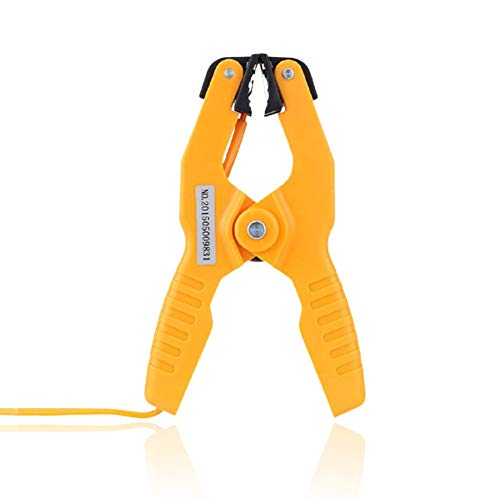 Type K Pipe Clamp Temperature Lead Probe HVAC Pipes Jaw Clip Plumbing Clamp