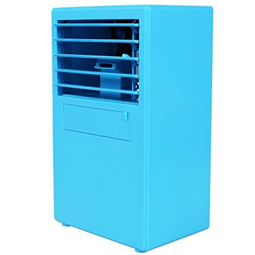 Aire acondicionado móvil ventilador de aire acondicionado pequeño humidificador purificador de aire aromaterapia USB mini enfriador de aire personal, oficina en casa mini aire acondicionado, aire acon