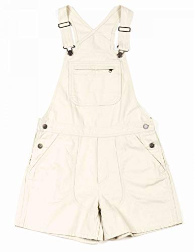 Patagonia Damen W's Stand Up Overalls Kleid, Weiß (Dyno White), XL