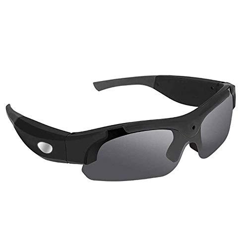 Adesign Cámara Bluetooth Gafas de Sol, cámara HD 1080P del Grabador de vídeo for la conducción de la Motocicleta del Montar a Caballo Pesca y Deportes al Aire Libre