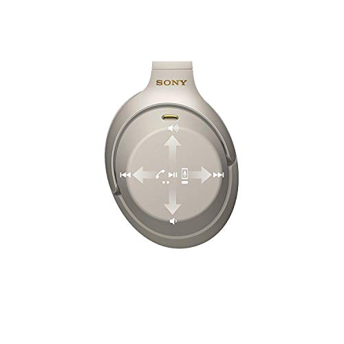 Sony WH1000XM3 Bluetooth Wireless Noise Canceling Headphones Silver WH-1000XM3/S (Renewed) 8