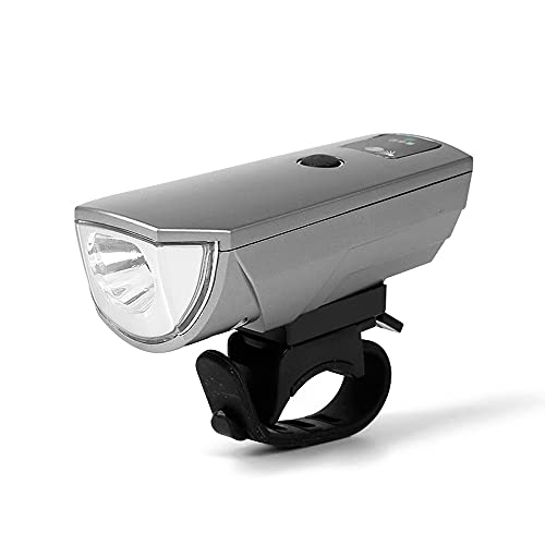 QQWJSH Equipo de Ciclismo LED Wick Faro de Bicicleta Luz Fuerte Carga USB Sensor Inteligente Impermeable Linterna de luz de Coche para niños