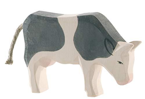 Margarete Ostheimer Ostheimer Kuh schwarz fressend