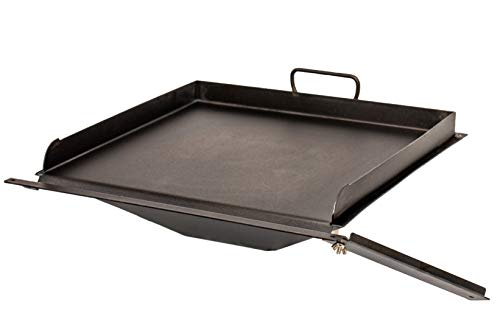Griddle Hack | Pancakes, Omelettes, Bacon, Sautéed Veggies, Stir Fry, Smash Burgers, Reverse Sear, and More On Your Pellet Grill | Griddle Insert Accessory by BBQ Hack