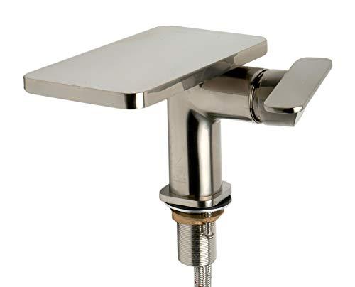 Alfi AB1882-BN Grifo para baño, Níquel cepillado