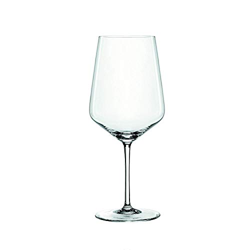 Spiegelau 4670181 Red Wine Glasses Cocktail Drinkware, Set of 4, Clear