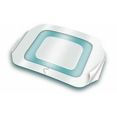 TEGADERM Plus + Pad 3M Folie, 9cm x 25cm x10–Transparent/Wasserdicht/non-adh Pad